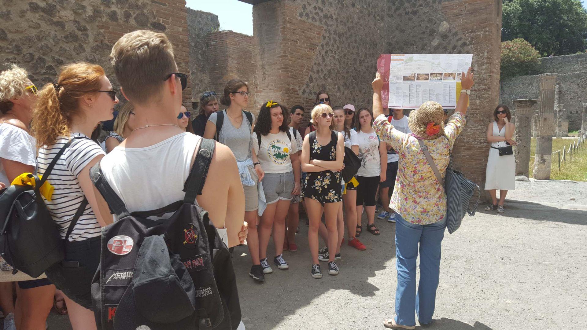 Wycieczka Włochy - Sycylia. POMPEJE (17)