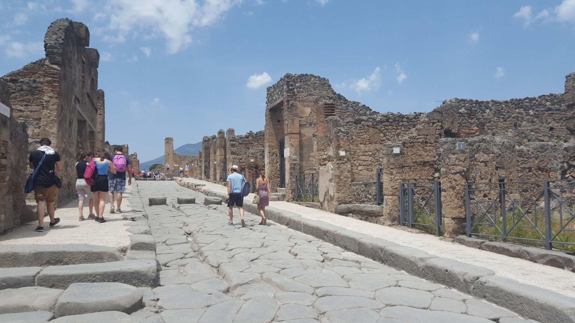 Wycieczka Włochy - Sycylia. POMPEJE (23)
