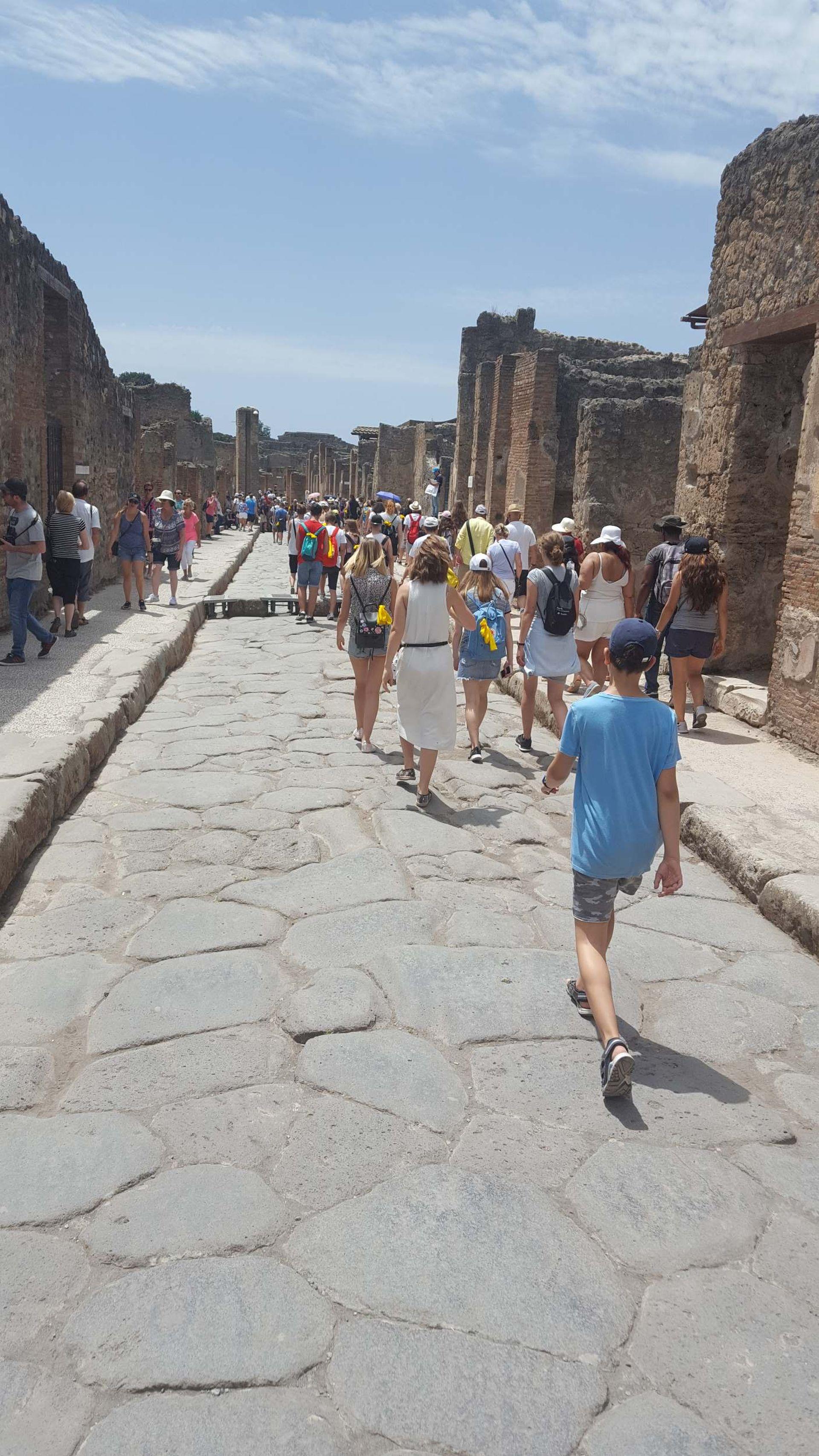 Wycieczka Włochy - Sycylia. POMPEJE (27)