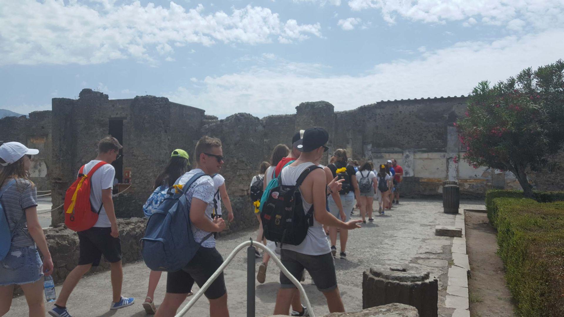 Wycieczka Włochy - Sycylia. POMPEJE (34)