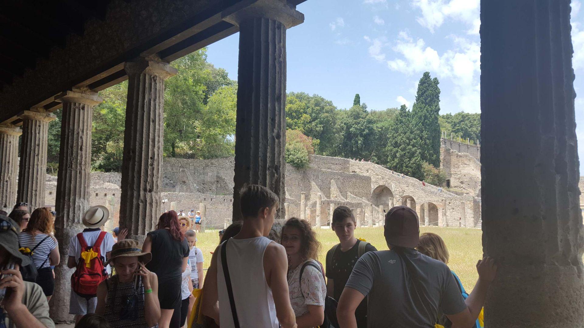Wycieczka Włochy - Sycylia. POMPEJE (4)
