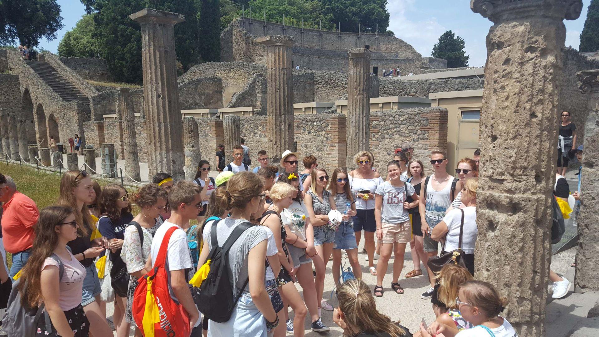 Wycieczka Włochy - Sycylia. POMPEJE (8)