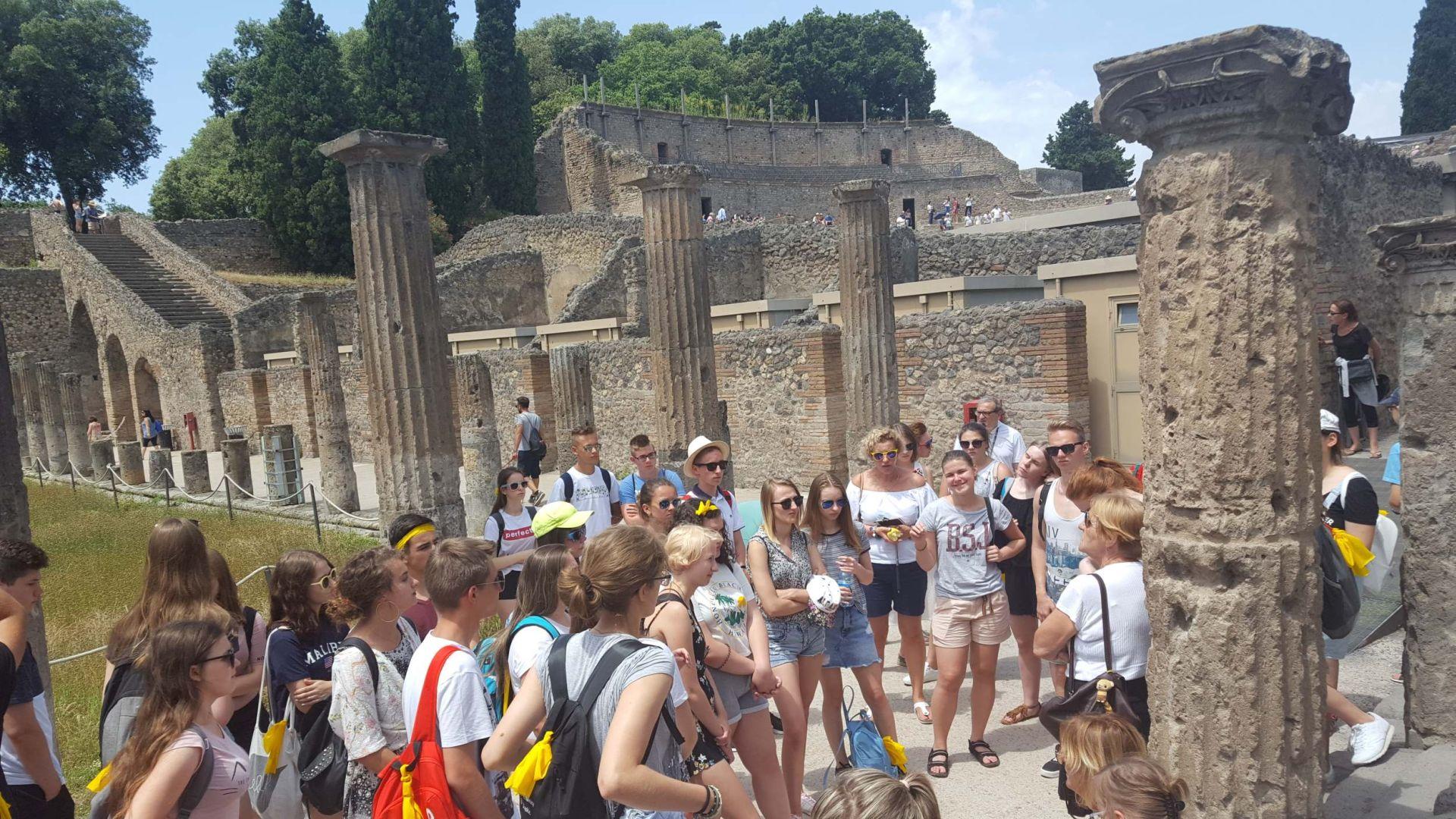 Wycieczka Włochy - Sycylia. POMPEJE (9)