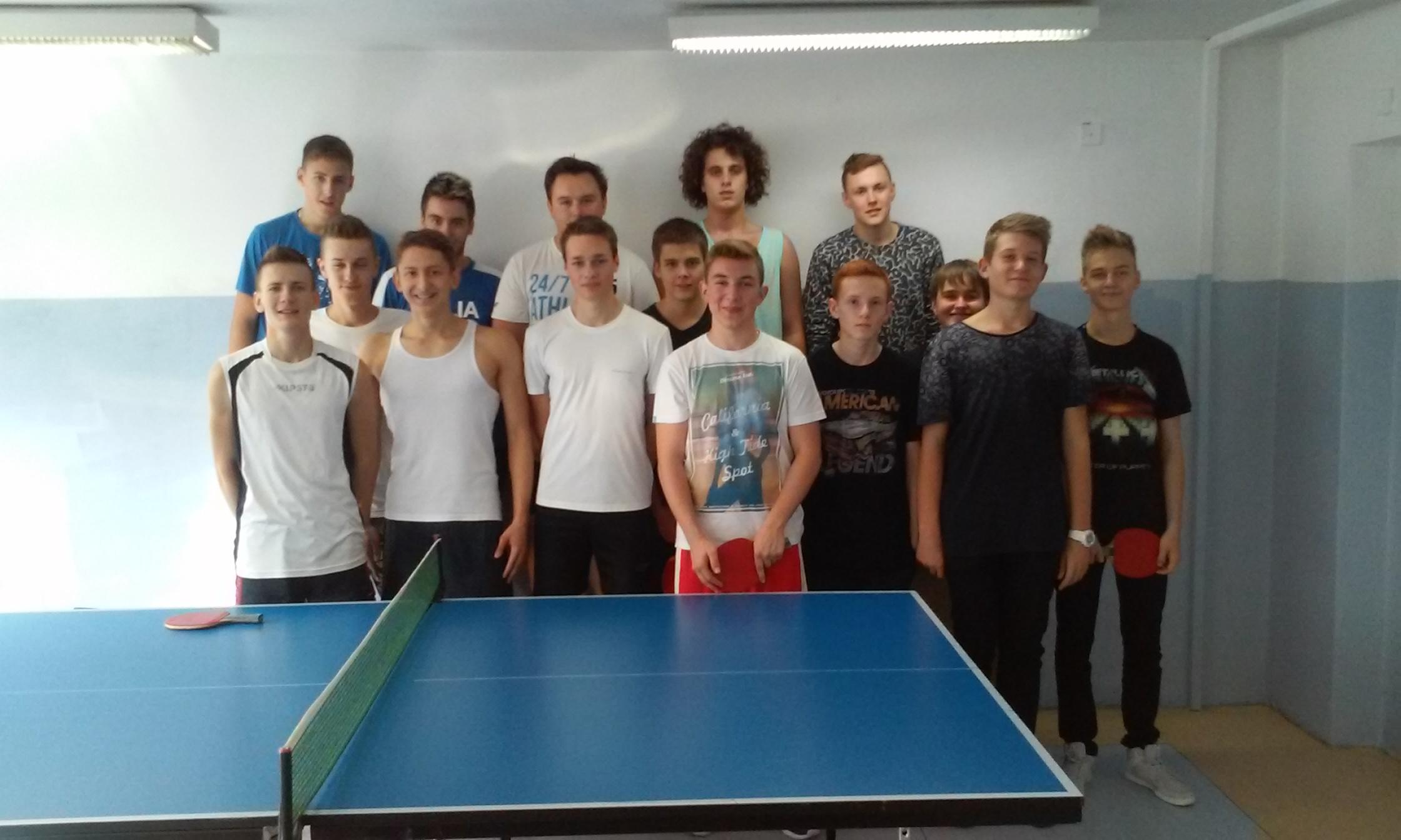 Mistrzostwa III LO w tenisie stołowym