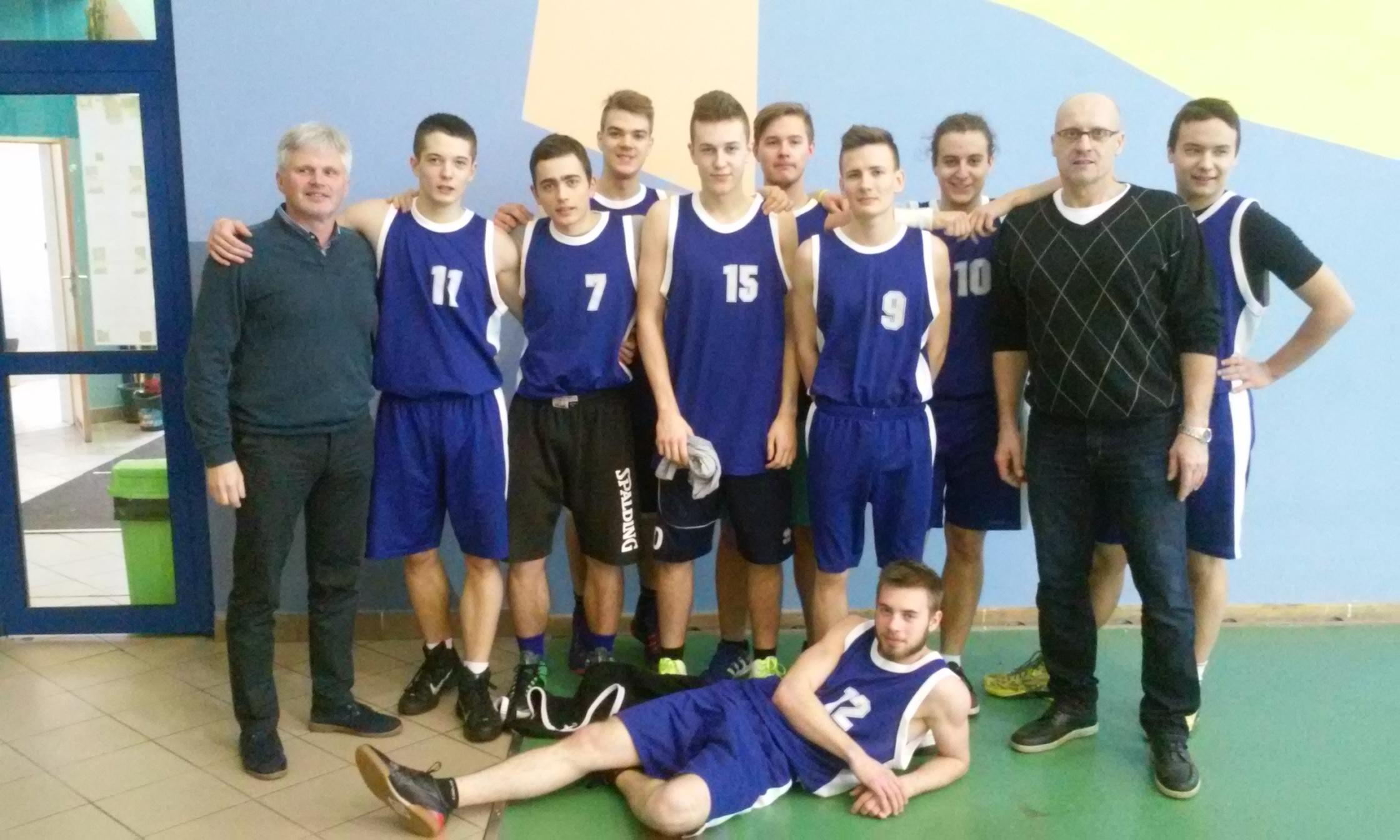 Mistrzostwa Jaworzna Szkół Ponadgimnazjalnych w piłce koszykowej chłopców