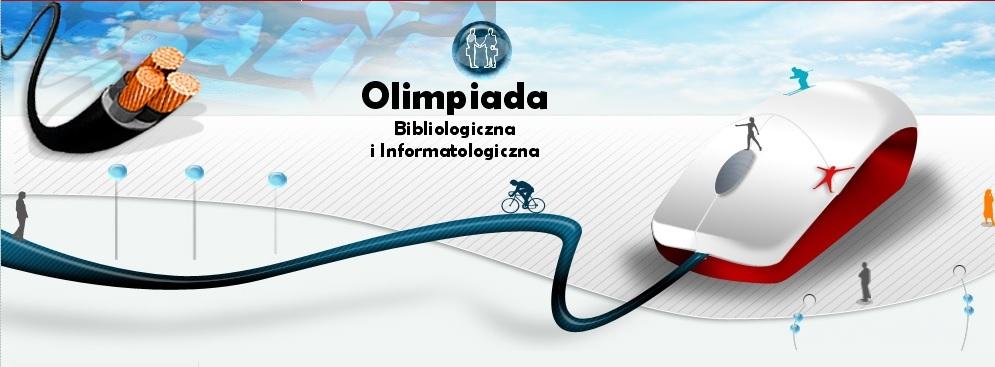 Olimpiada bibliologiczna informatologiczna