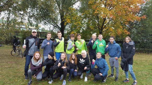 Mistrzostwa Jaworzna Szkół Ponadgimnazjalnych w Sztafetowych Biegach Przełajowych