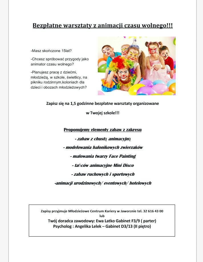 Ogłoszenie - Zaproszenie